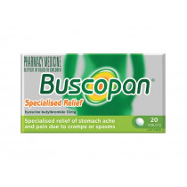 Buscopan Specialised Relief 10mg 20 Tablets