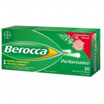 Berocca Performance Original Berry 30 Effervescent Tablets