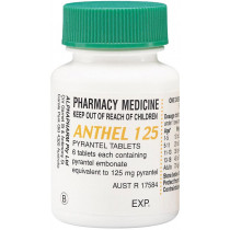 Anthel 125mg 6 Tablets