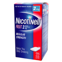 Nicotinell Gum Fruit 2mg 96 Pieces