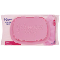 Johnsons Baby Skincare Wipes Lightly Fragranced 80 Wipes
