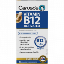 Caruso's Vitamin B12 Activated 60 Tablets