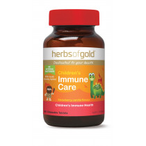 Herbs of Gold Childrens Immune Care 60 Tablets