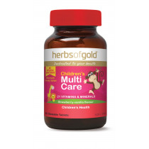 Herbs of Gold Childrens Multi Care 60 Tablets