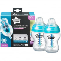 Tommee Tippee Advanced Anti-Colic Bottle 260ml 2 Pack