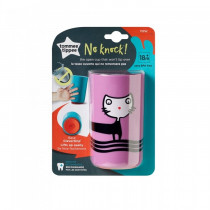Tommee Tippee No Knock Cup Purple Cat 18m+ 1 Pack