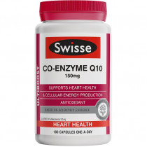 Swisse Co-Enzyme Q10 150mg 180 Capsules