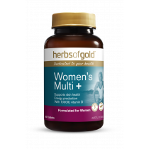 Herbs Of Gold Womens Multi Plus 60 Tablets