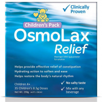 OsmoLax Relief Macrogol Osmotic Laxative Powder Childrens Pack 35 Doses 298g