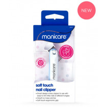 Manicare Soft Touch Nail Clipper Blue