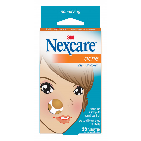 Nexcare Acne Cover Assorted 36 Pack