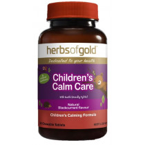 Herbs of Gold Childrens Calm Care 60 Tablets