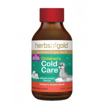 Herbs of Gold Childrens Cold Care 100ml