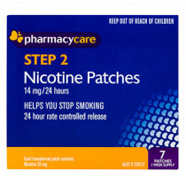 Pharmacy Care Nicotine Patches 14mg 7 Pack