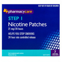Pharmacy Care Nicotine Patches 21mg 7 Pack