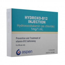 Hydroxo-B12 Injection 1mg/1ml 3 Ampoules