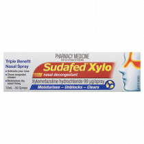 Sudafed Xylo Triple Action Benefit Nasal Spray 10ml