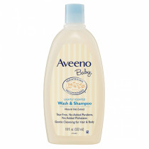 Aveeno Baby Wash & Shampoo 532ml