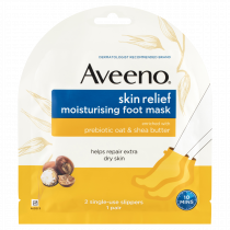 Aveeno Skin Relief Moisturising Foot Mask 1 Pair