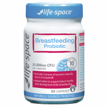 Life Space Breastfeeding Probiotic 50 Capsules