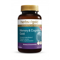Herbs of Gold Memory & Cognition Gold 60 Tablets