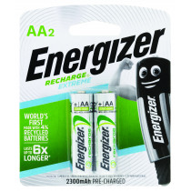 Energizer Rechargeable AA 2 Pack