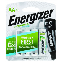 Energizer Rechargeable AA 4 Pack
