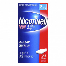 Nicotinell Gum 2mg Frut 24 Pack
