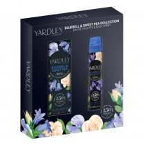 Yardley Gift Set Bluebell And Sweetpea EDT & Body Spray