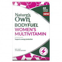 Natures Own Bodyfuel Womens Multivitamin 60 Tablets