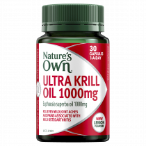 Natures Own Ultra Krill Oil 1,000mg 30 Capsules