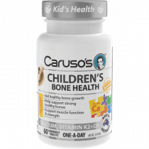 Carusos Childrens Bone Health 60 Tablets
