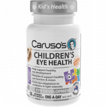 Carusos Childrens Eye Health 50 Capsules