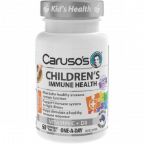Carusos Childrens Immune Health 60 Tablets