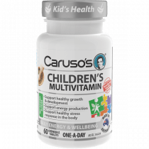 Carusos Childrens Multivitamins  60 Tablets