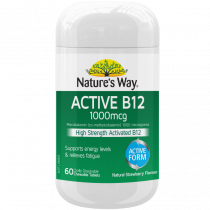 Natures Way Active B12 60 Tablets