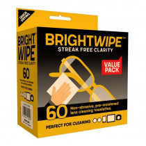 Bright Wipe Lens Wipes 60 Pack