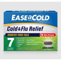 Ease A Cold Cold & Flu Relief 18 Capsules