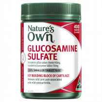 Natures Own Glucosamine Sulfate 400 Tablets