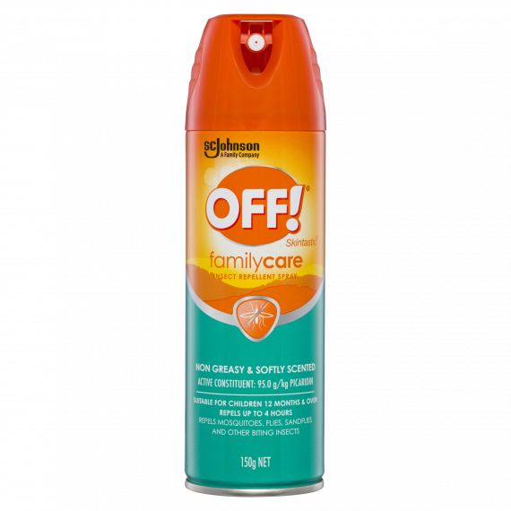 Off Family Care Insect Repellant Spray 150g