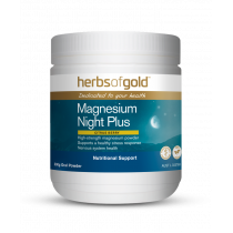 Herbs of Gold Magnesium Night Plus 300g