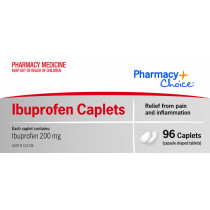 Pharmacy Choice Ibuprofen 96 Caplets