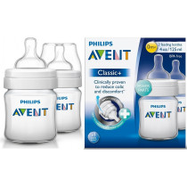 Avent Anti-Colic Baby Bottle 125ml 2 Pack