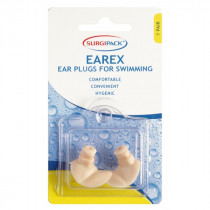 Surgipack Earex For Swimming Ear Plugs 1 Pair