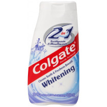 Colgate 2 in 1 Toothpaste & Mouthwash Whitening 130g