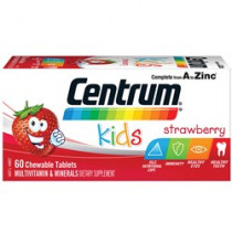 Centrum For Kids Strawberry 60 Chewable Tablets