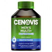 Cenovis Mens Multi + Performance Once Daily 100 Capsules