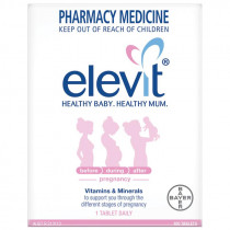 Elevit Pregnancy Vitamins & Minerals 100 Tablets