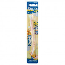 Oral-B Stages 1 Baby 4-24 Months Soft Toothbrush