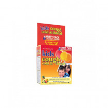 Key Sun Kids Cough Cold & Throat Variety Pack 12 Lozenges